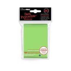 Ultra Pro Standard Sleeves - Lime Green (50 ct.)