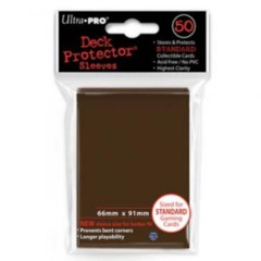 Ultra Pro 60ct Yugioh Sized Sleeves - Brown