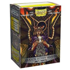 Dragon Shield Sleeves: Matte - Queen Athromark Portrait (100)