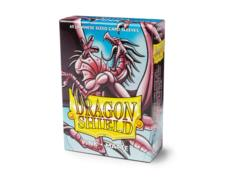 Dragon Shield Box of 60 Japanese Size Card Sleeves Matte - Pink