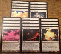 20x Panorama Land (Bant, Esper, Grixis, Jund, Naya) Common Lands Lot/Collection