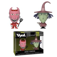 Nightmare Before Christmas Lock and Shock VYNL Figure 2-Pack