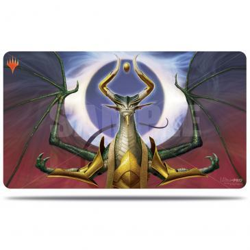 War of the Spark Alternate Art Playmat - Nicol Bolas for Magic: The Gathering