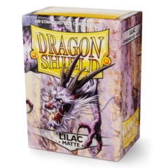 Dragon Shield Sleeves Matte Lilac Standard Size 100CT