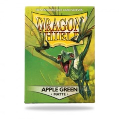 Dragon Shield Matte Apple Green Deck Protectors 100ct Standard Size