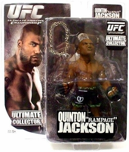 UFC Quinton Rampage Jackson Ultimate Collector Series 4 figure