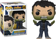 Avengers Infinity War Bruce Banner as Hulk Pop! Vinyl Figure