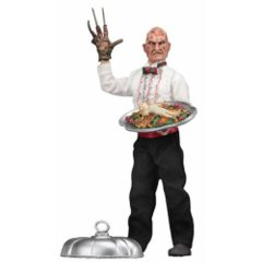 Nightmare on Elm Street Chef Freddy Retro Cloth Action Figure