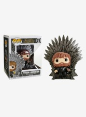 Game of Thrones Tyrion Sitting on Throne Deluxe Pop! Vinyl Figure