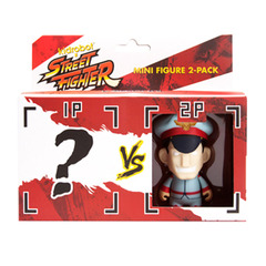 Kidrobot Street Fighter M. Bison Vinyl Mini-Figure 2-Pack