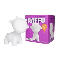 MUNNYworld Raffy White Vinyl 7