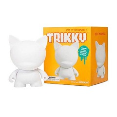 MUNNYworld Trikky White Vinyl 7