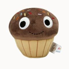Kidrobot YUMMY Plush Cupcake Chocolate Small Plush