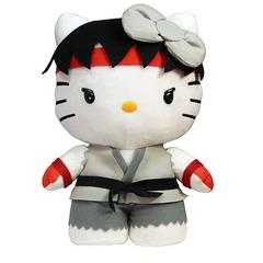 Street Fighter Hello Kitty Ryu 11-Inch Plush