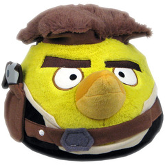 Star Wars Angry Birds Han Solo 8-Inch Plush