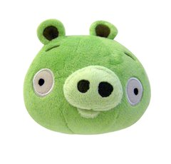 Angry Birds Plush 5-Inch Piglet *Green Pig* With Sound