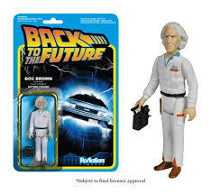 Back to The Future Doc Brown Funko ReAction