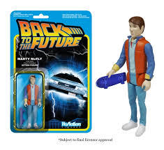 Back to The Future Marty Mcfly Funko ReAction
