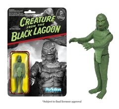 Universal Monsters Creature of the Black Lagoon Funko ReAction Figures