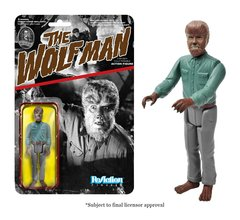 Universal Monsters Wolfman Funko ReAction Figures
