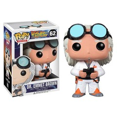 Back to The Future Doc Brown Pop Vinyl 62