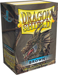Dragon Shield Sleeves Brown Standard Size 100CT