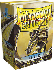 Dragon Shield Sleeves Gold Standard Size 100CT