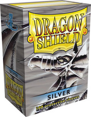 Dragon Shield Sleeves Silver Standard Size 100CT