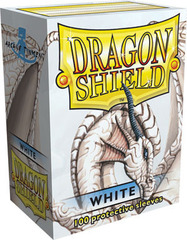Dragon Shield Sleeves White Standard Size 100CT