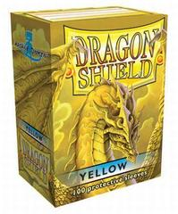 Dragon Shield Sleeves Yellow Standard Size 100CT