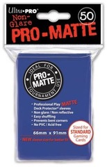 Ultra Pro Pro-Matte Sleeves Blue Standard Size 50CT