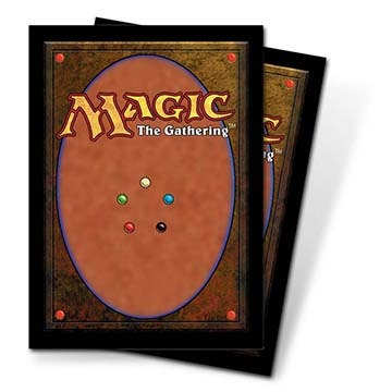 Ultra Pro Card Back Standard Deck Protectors for Magic 80ct