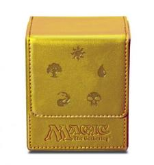 Ultra Pro Flip Box Gold Mana Magic the Gathering