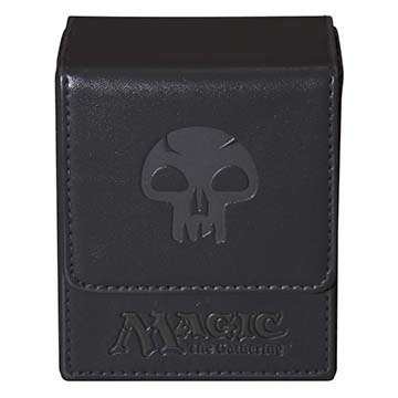 Ultra Pro Flip Box Black Mana Magic the Gathering