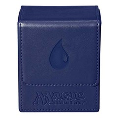 Ultra Pro Flip Box Blue Mana Magic the Gathering