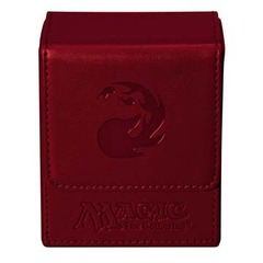 Ultra Pro Flip Box Red Mana Magic the Gathering