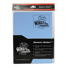 Monster Protectors 9-Pocket Binder - Delta Blue