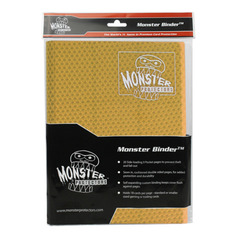 Monster Protectors 9-Pocket Binder - Holofoil Gold