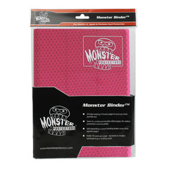 Monster Protectors 9-Pocket Binder - Holofoil Pink