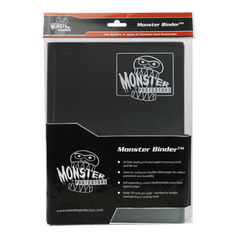 Monster Protectors 9-Pocket Binder - Matte Black
