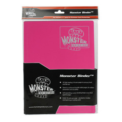 Monster Protectors 9-Pocket Binder - Matte Pink