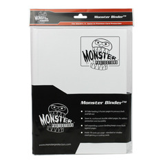 Monster Protectors 9-Pocket Binder - Matte White