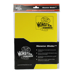 Monster Protectors 9-Pocket Binder - Matte Yellow