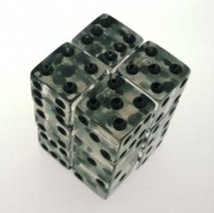Koplow Clear/Black 12 x d6 16mm The Brick
