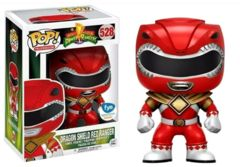 Power Rangers Dragon Shield Red Ranger FYE Exclusive Pop Vinyl Figure