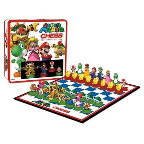 Super Mario Chess Game Collectors Edition