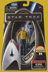 Star Trek Galaxy Collection Kirk 3 3/4 inch Bridge Part B9