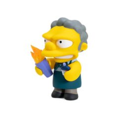 The Simpsons Flaming Moe 7-Inch Medium Vinyl Figure