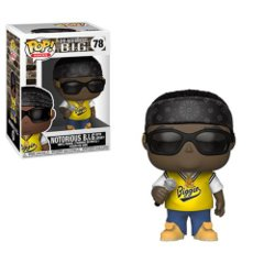 Notorious B.I.G. with Jersey Funko Pop Vinyl