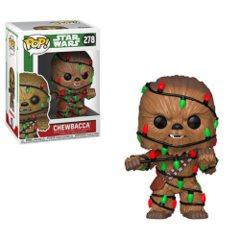 Star Wars Holiday Chewbacca with Lights Pop! Vinyl Figure
